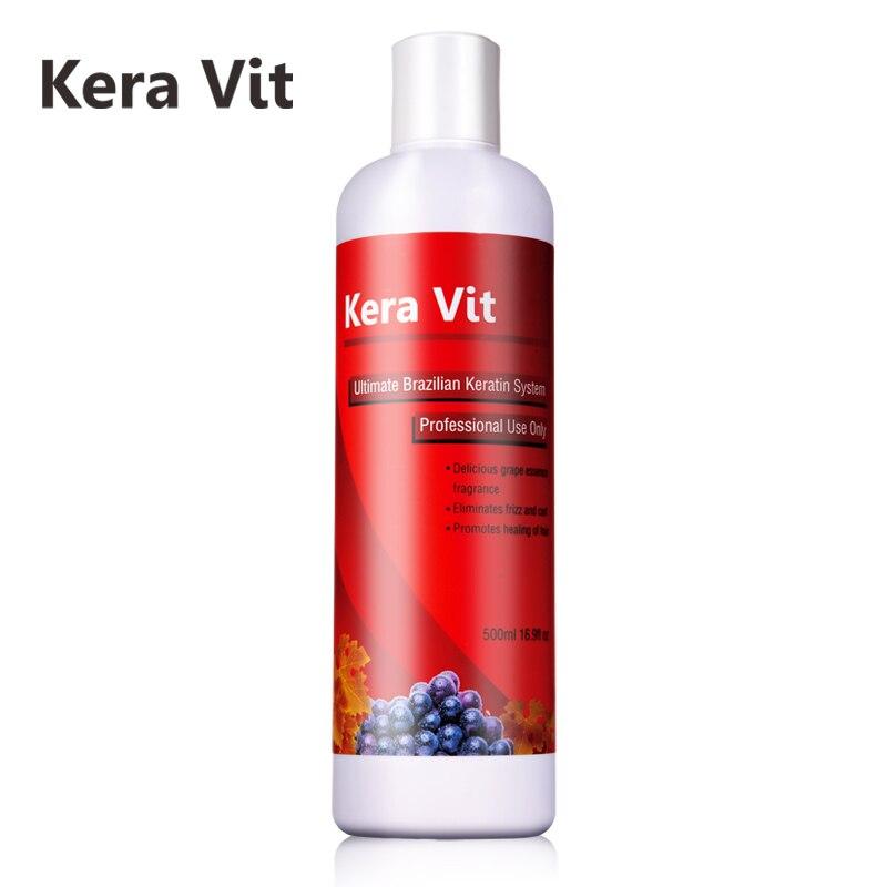 Newest Hot Sale 500ML Brazilian Hair Keratin Treatment Free Formalin Treatment Starighten and Repair Damaged Hair Free Shipping