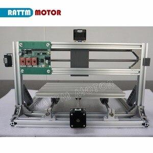 Image 4 - De ship mini máquina de gravação a laser, cnc 3018 gravador laser diy hobby, ferramentas de corte er11 grbl para madeira, pcb pvc mini roteador cnc, mini roteador cnc