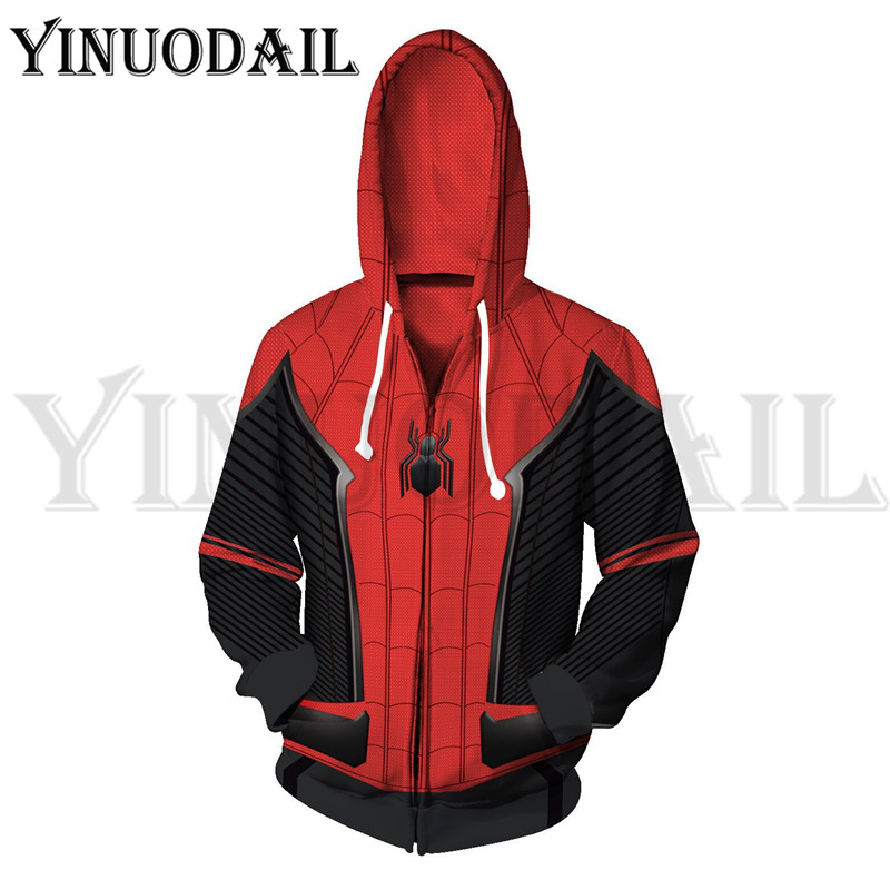 Winter Men Marvel Comics Hoodie Spiderman Sweatshirts Women Autumn Funny Print Hoodies 3d Hoodies Harajuku