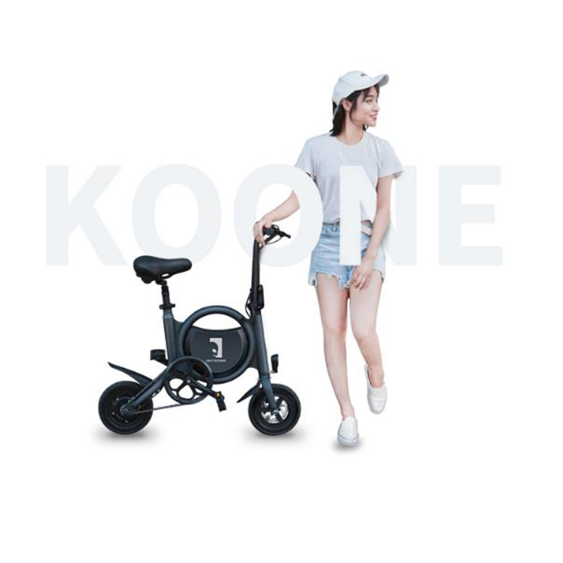 2018 new folding electric bicycle mini battery moped men and women adult environmental protection fitness small travel bicycl|Bicycle| |  -