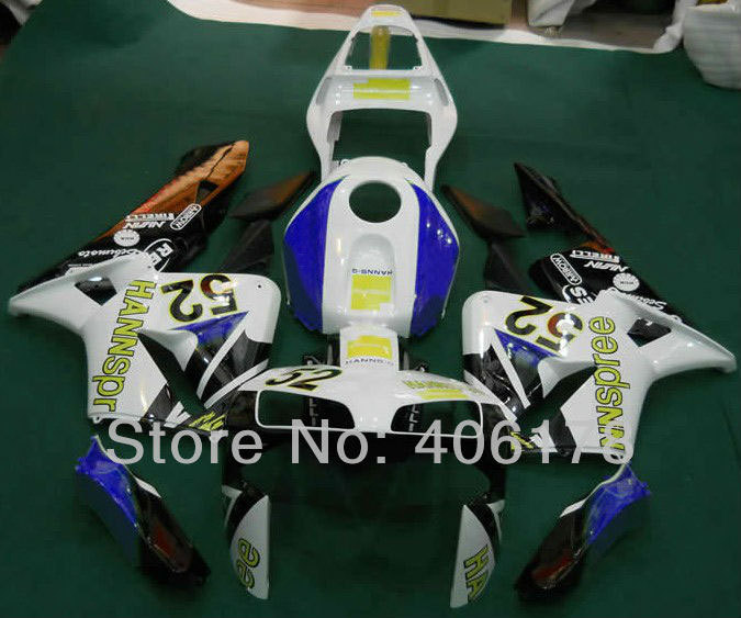 Hot Sales,Cheap cbr 600 rr Parts For Honda CBR600RR F5 03 04 CBR600 2003 2004 HANNspree Motorcycle Fairings (Injection molding)