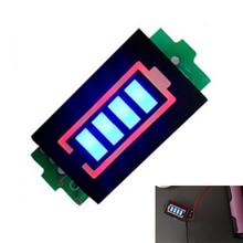 2S 2 Series Lithium Battery Capacity Indicator Module 8.4V Blue Display Electric Vehicle Battery Power Tester Li-po Li-ion