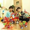 23 ШТ. Мини Enlighten Магнитный Конструктор Игрушки Площадь Треугольника DIY Строительные Блоки Кирпичи Развивающие Игрушки Для Детей