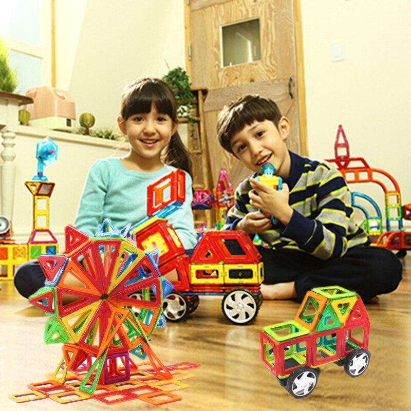23PCS Mini Enlighten Bricks Educational Magnetic Designer Toy Square Triangle DIY Building Blocks Toys For Children triangle ru bun lock children puzzle toy building blocks