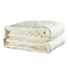 Home textile mulberry silk comforter/blanket/bedspreads/duvet/bedclothes/quilted quilt filler king queen full twin summer&winter