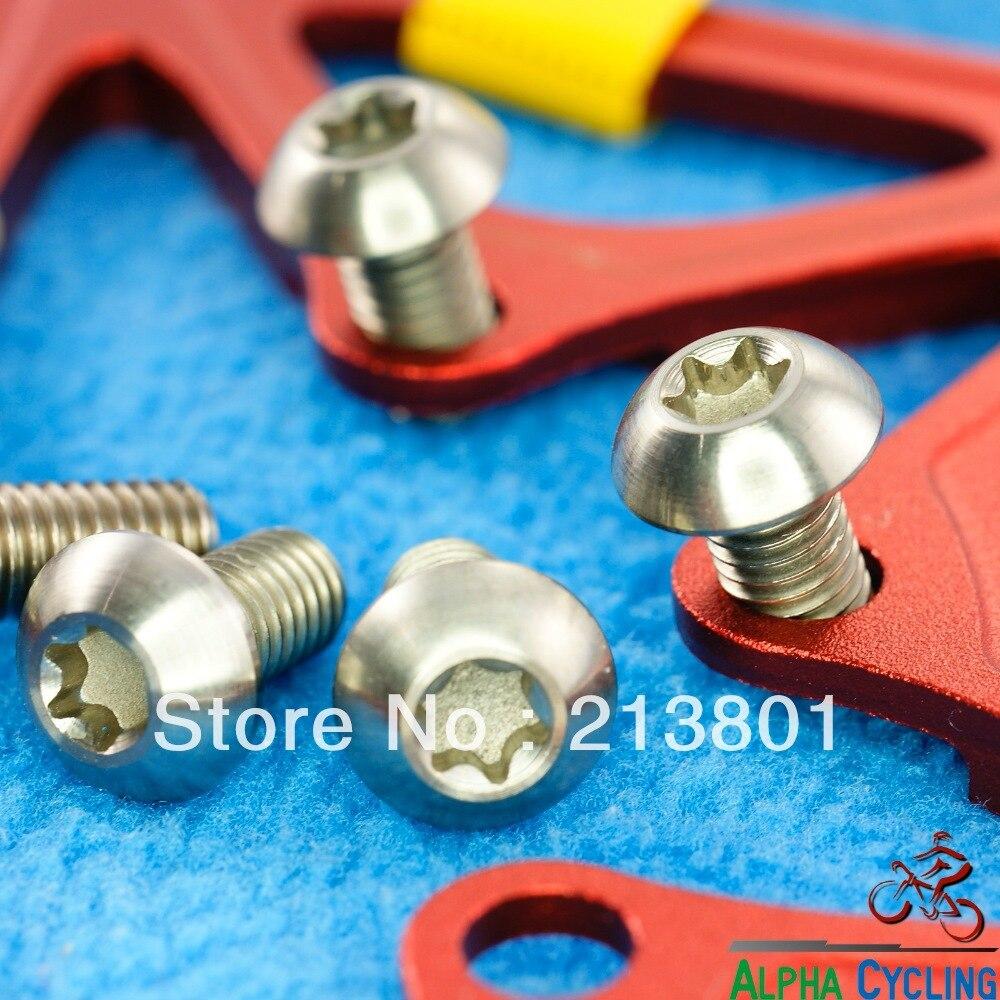 Vis titane tête bombée Ti 6Al-4V Torx T25 M5 x 8mm Ti screw pan head