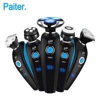 Paiter 4D 4 In 1 Electric Shaver Men Shaving Machine Razor USB Rechargeable Multifunction Electric Razor