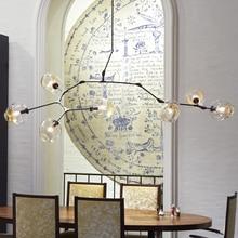 Lindsey Adelman Bubble Chandeliers Lights Fixture Globe Branching Home Indoor Lighting Office Dining Room Hanging Droplights
