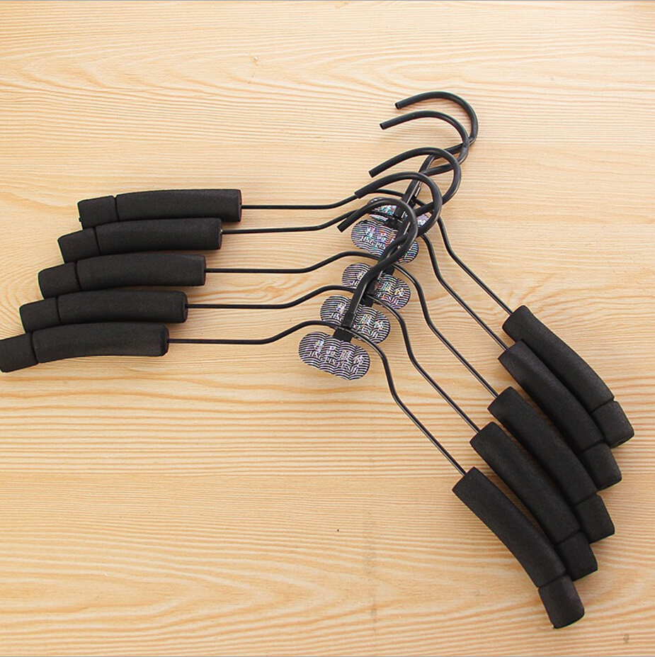 Clothes Sponge Rack multifunctional Adult Sponge Coat Hanger Slip Hanger Clothing Drying Rack Wardrobe Rack Incognito Antiskid