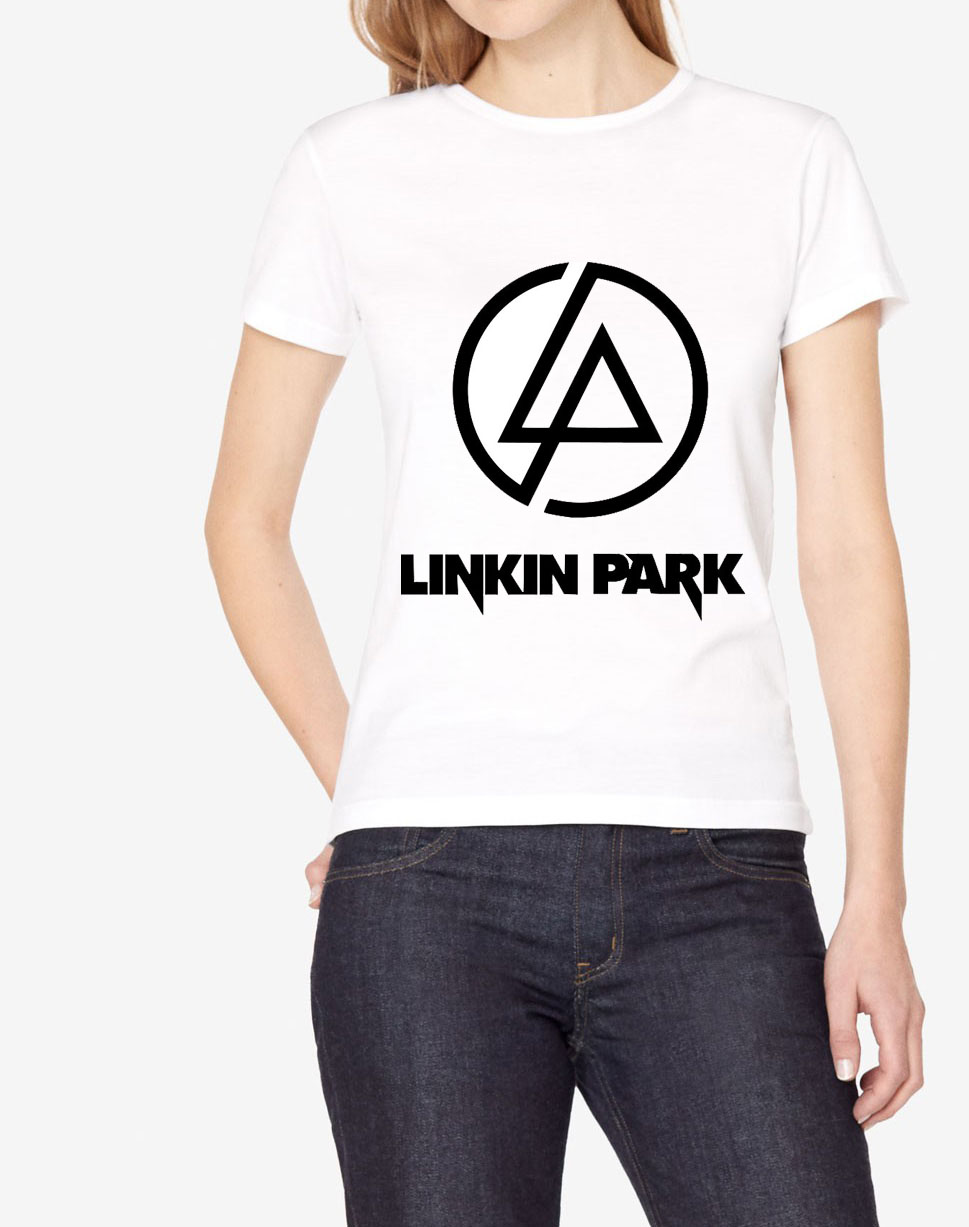 Linkin Park Print Short Sleeve O Neck Women T Shirt 2019
