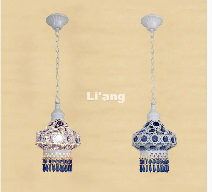 2017 Newly Art Decorative White Color Design Pendant Chandelier Living Room Candle Lamps E27 luxury Acrylic Crystal Pendant Lamp k5 crystal e14 led bulb light candle lamp ac220v 4w white warm white chandelier pendant lamp
