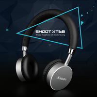 SHOOT XT68 Wireless Bluetooth Headphones With Microphone Dynamic Stereo Wireless Headset For IPhone Music And Call
