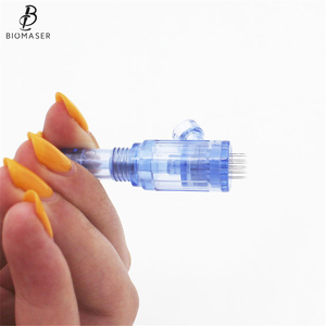 Image 5 - Biomaser Tattoo Cartridges Needles 12 pin Mesotherapy For Auto Microneedle Biomaser Pen Tattoo Needles 12pin Needle Tip