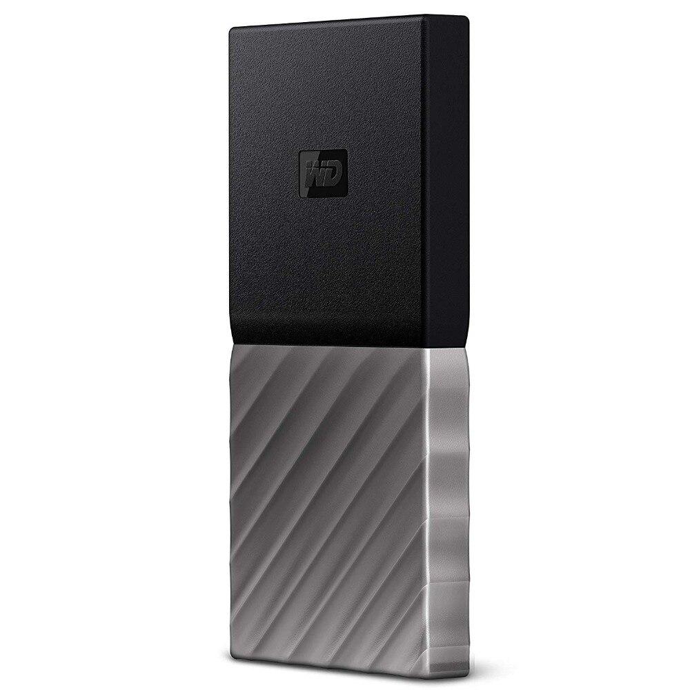 WD My Passport SSD Портативный хранения 256 GB/512 GB/1 ТБ внешний твердотельный накопитель USB 3,1 Защита паролем для Mac, ПК, ноутбука
