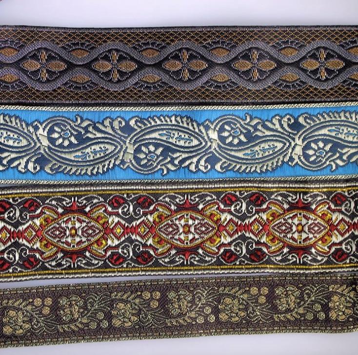 Redelijk Etnische Tribal Borduren Lace Trim 3.3 Cm Jurk Kraag Lint Geweven Tape Singels Boho Gypsy Diy Accessoire Decoratie Vintage Miao Een Grote Verscheidenheid Aan Modellen