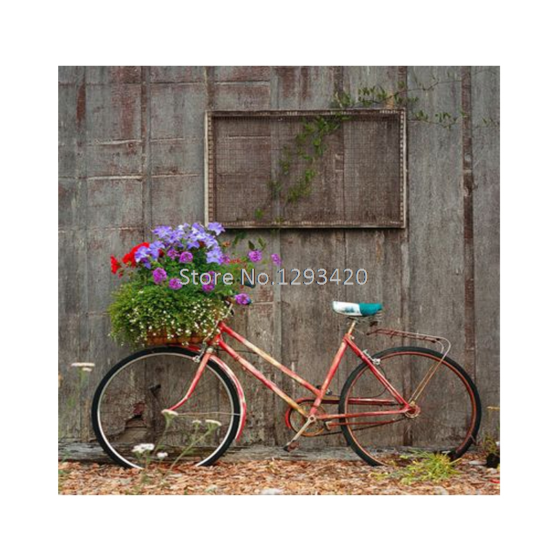 DIY Diamond Painting Bicycle flowers Cross stitch kits Needlework 5D Diamond Embroidery Hobbies and Crafts Home Decoration in Diamond Painting Cross Stitch from Home Garden