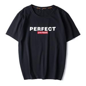 Image 1 - Camisetas informales de alta calidad para hombre, camisetas a la moda en negro, blanco y rojo, camisetas holgadas de estilo HIP HOP de gran tamaño L 6XL 7XL 8XL 9XL, 2020