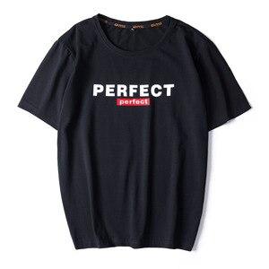 Image 1 - Casual Top Quality BLACK WHITE RED Mens T shirts Fashion 2020 Tshirt Tees HIP HOP LOOSE Plus OVERSize L 6XL 7XL 8XL 9XL