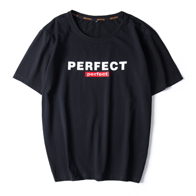 Casual Top Quality BLACK WHITE RED Mens T shirts Fashion 2020 Tshirt Tees HIP HOP LOOSE Plus OVERSize L 6XL 7XL 8XL 9XL