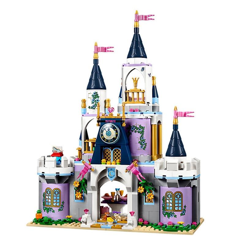BELA Friends Princess Cinderella's Dream Castle Building Blocks Bricks Kids Classic Girl Model Toys Compatible Legoe