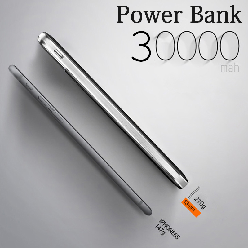 Original mini Power Bank 30000mAh External Battery Fast charge Dual USB Powerbank 18650 Portable Mobile phone Charger for xiaomi