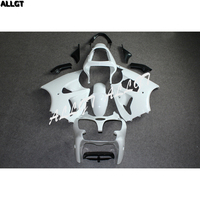 Unpainted white Fairing kit Bodywork ABS for KAWASAKI NINJA ZX6R 2000 2001 2002