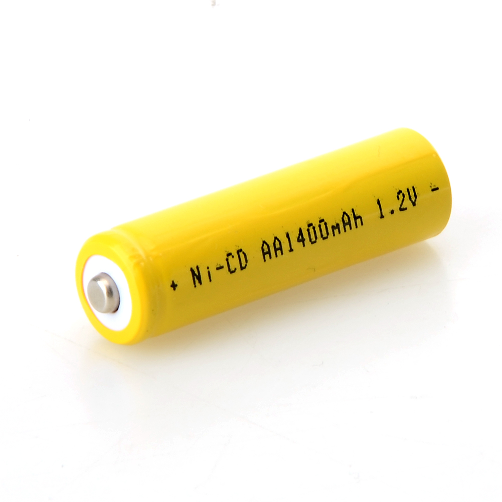 2 pcs/set Rechargeable Battery AA 1400mAh <font><b>1.2</b></font> <font><b>V</b></font> Quality AA <font><b>NI</b></font>-<font><b>CD</b></font> 1.2V Rechargeable 2A Battery image