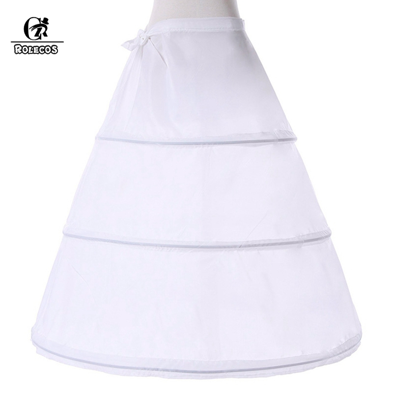 ROLECOS Underskirt for Women  Ball Gown Dress Medieval Retro Petticoat Wedding Dress Anime Cosplay Lolita Dress Accessories