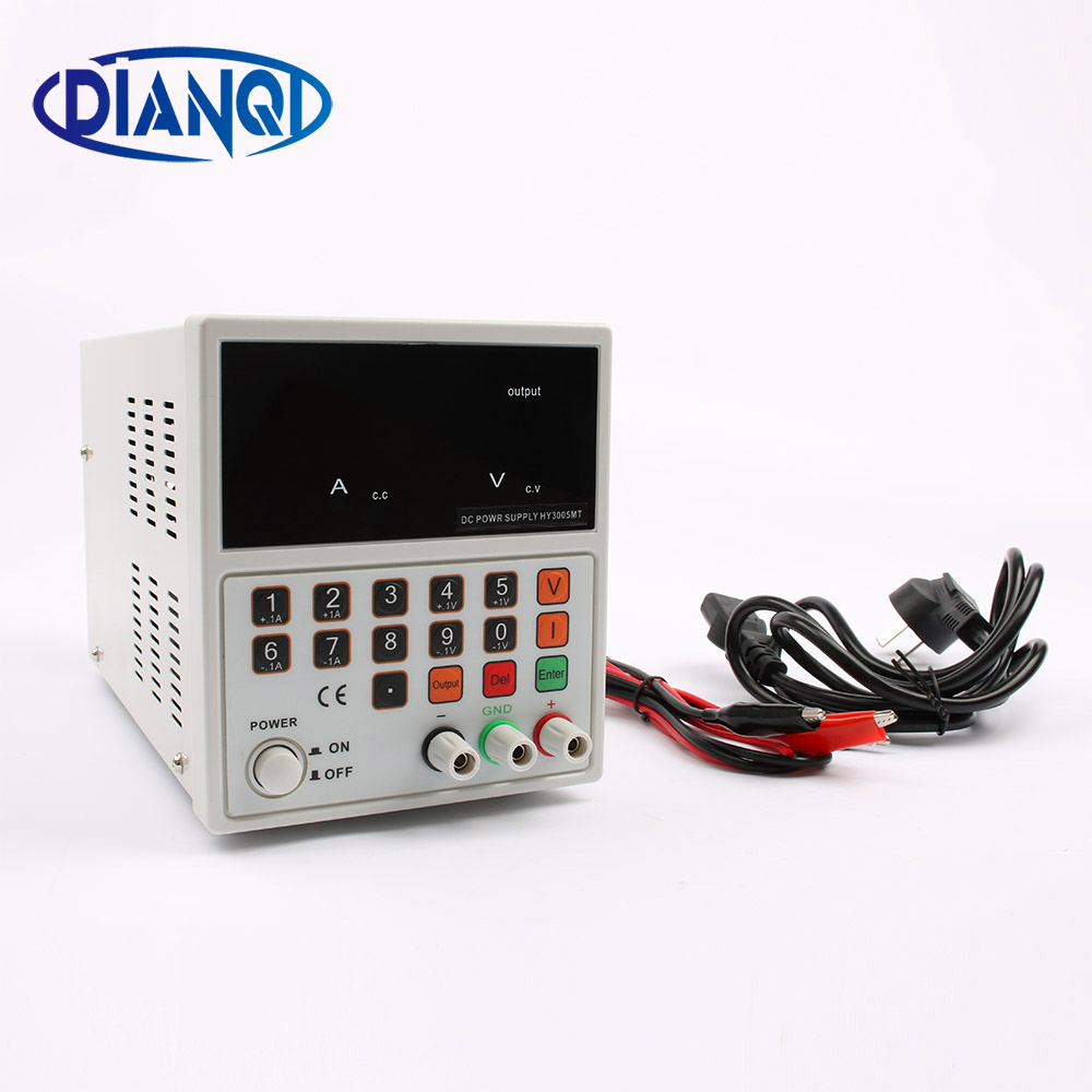 HYELEC single CNC adjustable DC power supply 30V5A HY3005MTHYELEC single CNC adjustable DC power supply 30V5A HY3005MT