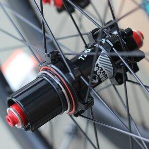 "Image 3 - SILVEROCK ألياف الكربون 20 ""451 406 العجلات 24H حافة الفرجار مكبح قرصي لطي الدراجة Minivelo عجلات الدراجة"
