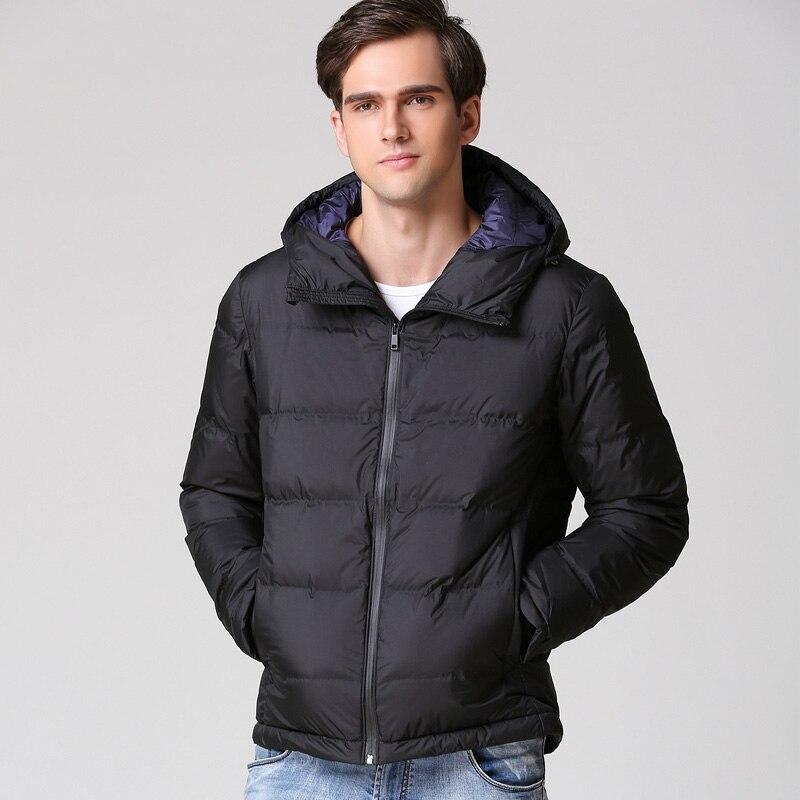 Для мужчин зимняя теплая Толстая куртка ветрозащитная Повседневное Верхняя одежда Пальто Для мужчин снег парка пальто