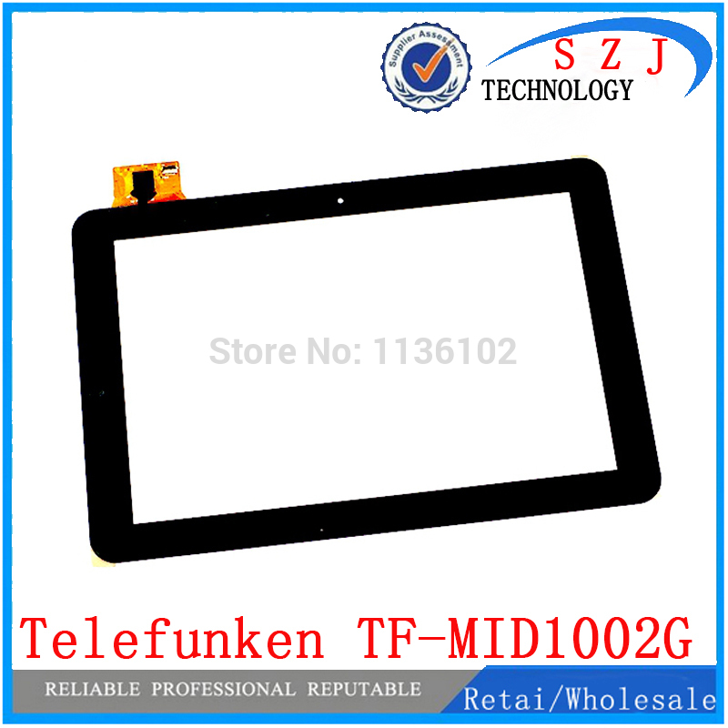 New 10.1 inch Telefunken TF-MID1002G Tablet 257*170 touch screen Touch panel Digitizer Glass Sensor Replacement Free Shipping new capacitive touch panel 7 inch mystery mid 703g tablet touch screen digitizer glass sensor replacement free shipping