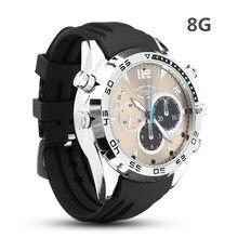 Новые 8 г Водонепроницаемый полный 1080 P HD Камера часы инфракрасного цифровые часы для фотосъемки аудио Запись fuction Для мужчин для женщин часы