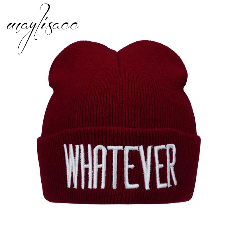 Maylisacc High Quality Kids Winter Warm Kintted Hat   Skullies     Beanies   Hat Letter for 3 Month-8 Years Old Boys Girls Keep Warm Hat