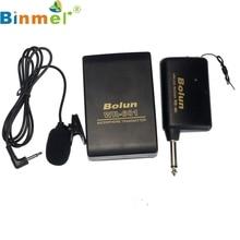 Беспроводной fm-передатчик мини микрофон приемник Lavalier нагрудные клип MIC Системы futural цифровой Прямая доставка Binmer AP18