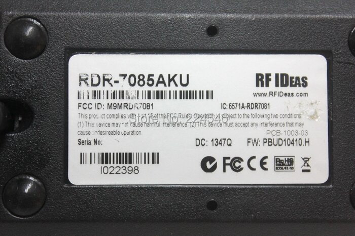 RF IDeas RDR-7085AKU-3