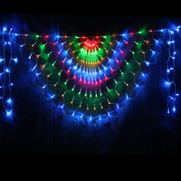 New Year! 2Mx0.8M AC110/220V LED Curtain String Light , Cristmas Christmas Lights Decoration Holiday Party Free Shipping