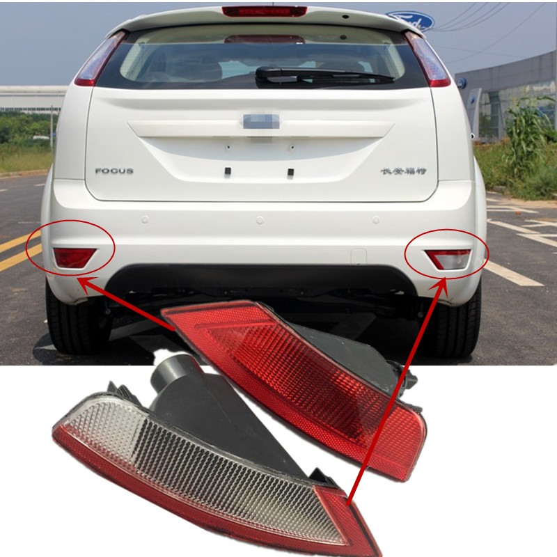 car rear bumper fog lamp Brake Lights Reverse light For ford focus 2009-2014 Ecosport 2013-2015 Hatchback car rear fog bumper lamp reverse brake lights for nissan qashqai 2007 2008 2009 2010 2011 2012 2013 2014 2015