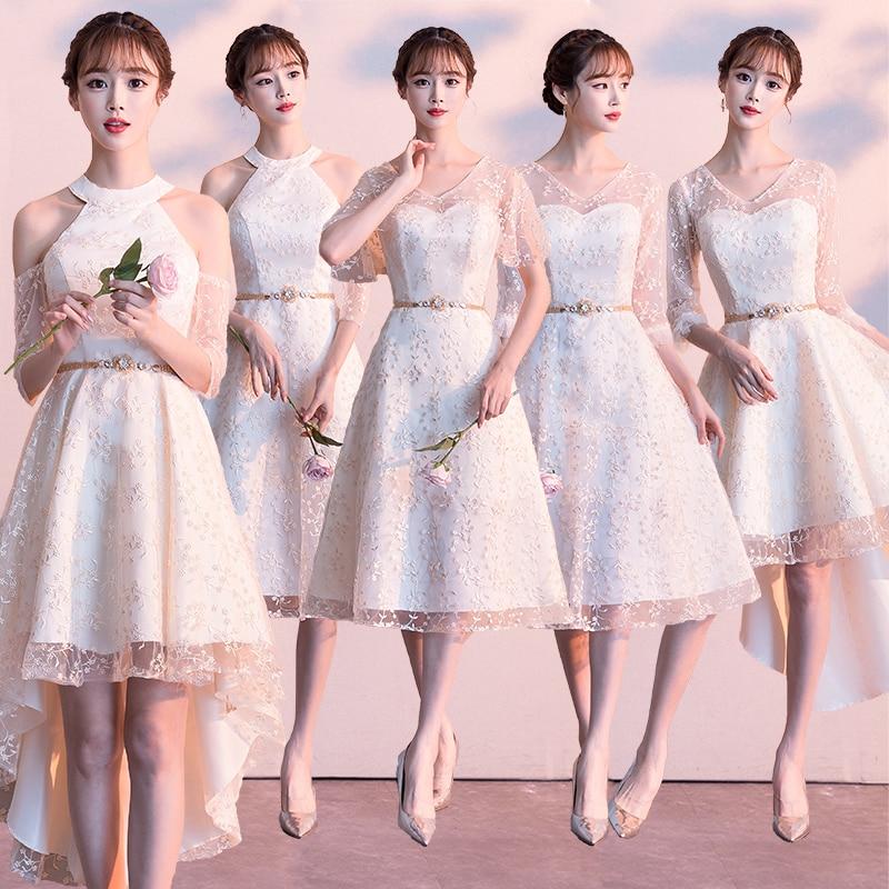 A line   Bridesmaid     Dress   2019 Long Graduation   Dress   Wedding Party Prom Girl   Dress   Homecoming   Dress