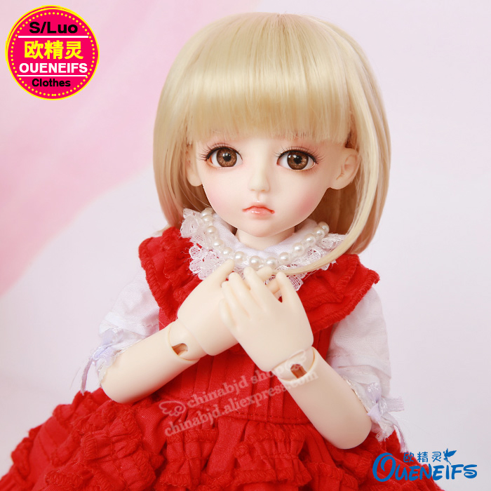 BJD Clothes 1/6 Pleated Skirt Doll Suit Elegance And Beauty Dress For The Luts Hanael YF6-175 Doll Accessories