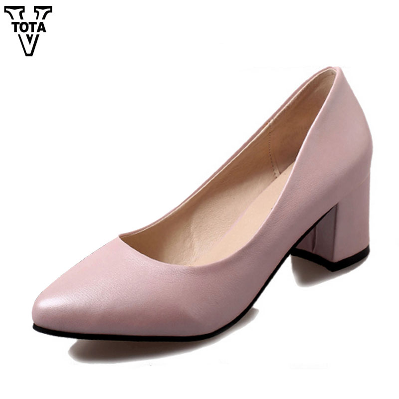VTOTA Spring Autumn High Heels Women Pumps Fashion Shoes Woman 2017 Platform Shoes Slip On Women Shoes Suede Office Lady Shoes footwear women pumps fashion shoes sexy elegant squaretoe slip on med heels office lady woman shoes black beige red green color