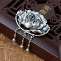 S925 Sterling Silver Jewelry Brooch female explosion