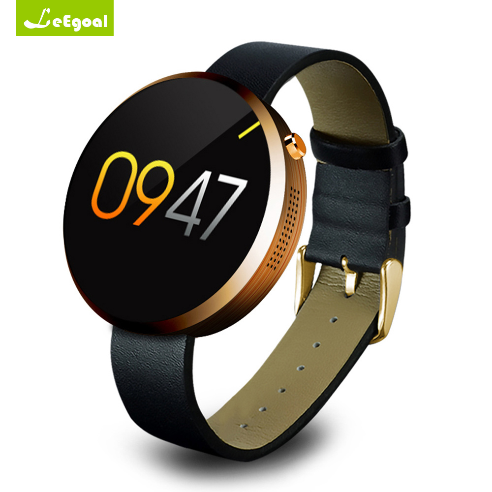 DM360 Smartwatch Bluetooth Smart Watch Heart Rate Monitor Leather Band Wristwatch Fitness Tracker for iPhone iOS Android Phone  бетоносмеситель herz dm 360