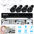 KKmoon 4CH DVR 700TVL Waterproof Security Camera System 960H D1 DVR 4pcs 700TVL IR Camera Outdoor Home Security Camera CCTV Kit