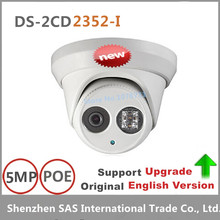Hikvision Original English Version DS-2CD2352-I Upgradeable CCTV Camera IR 30m 5MP WDR EXIR Turret Network IP Camera