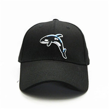 1b039710fd9f2 Whale animal embroidery cotton Casquette Baseball Cap hip-hop cap  Adjustable Snapback Hats for kids