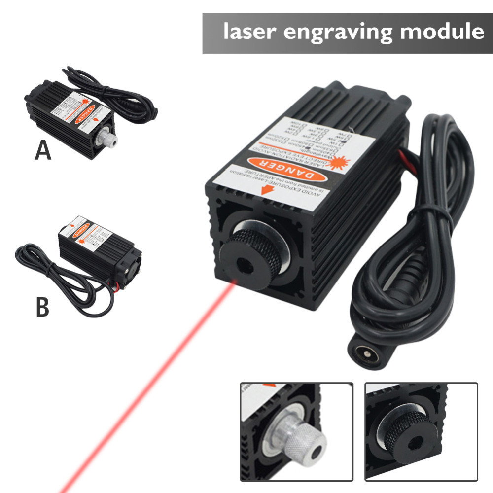 Laser Engraving 500MW/2500MW Laser Module Blue Ray 12V 450nm With TTL Driver For DIY CNC Engrave Machine