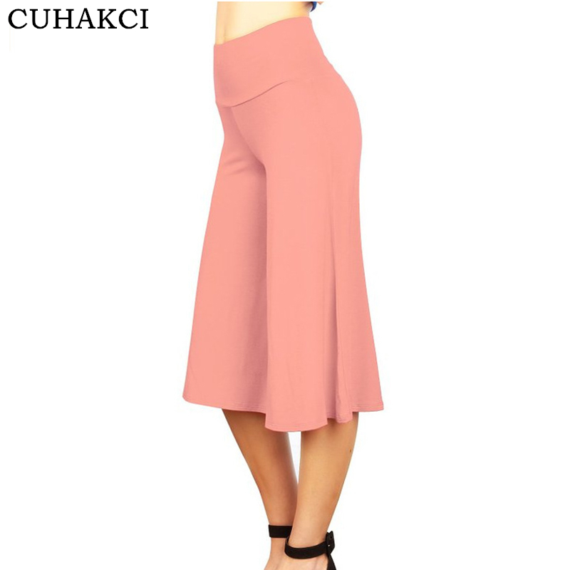 CUHAKCI Summer Casual Pleated   Pants     Wide     Leg     Pants   Women Loose Trousers Female New Elegant High Waist Big Plus Size Trousers XXL
