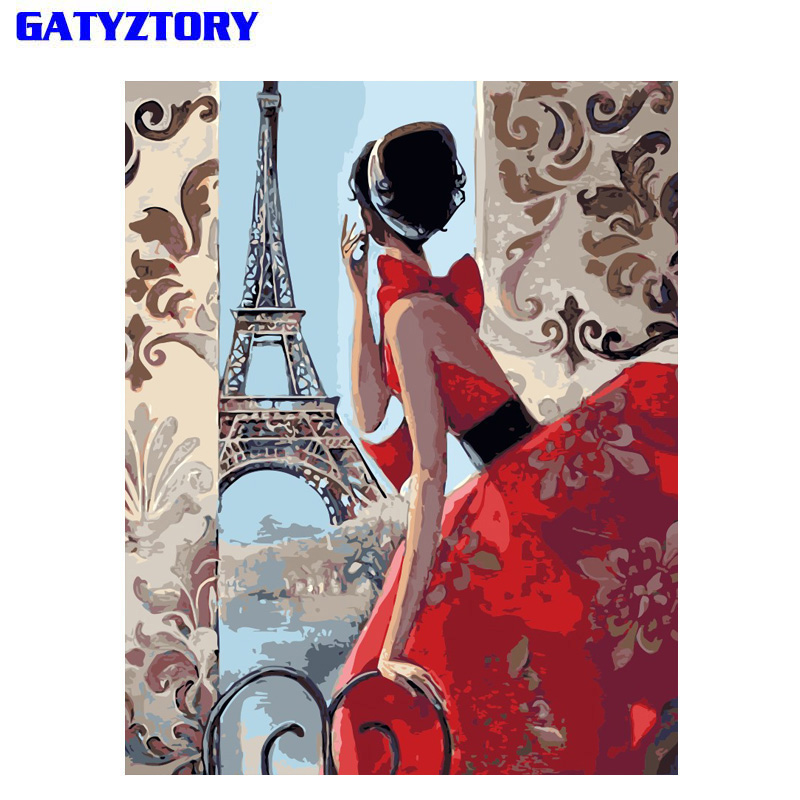 Mulheres Abstratas Frameless Pintura DIY Por Números Imagem Dos Desenhos Animados Home Da Parede Da Lona Retrato Da Arte Da Pintura Por Números Presente Original 40x50