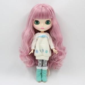 Image 2 - Fábrica 1/6 blyth boneca brinquedo bjd conjunto corpo mix rosa cabelo branco pele conjunta corpo presente 1/6 30cm 280bl1063/2352, boneca nua